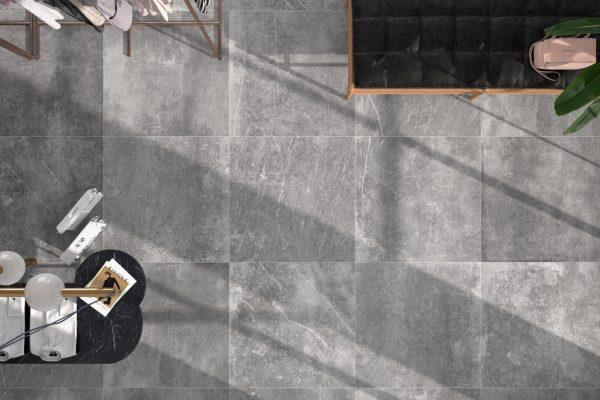 Kai Bone: Grijze natuursteenlook keramische tegel